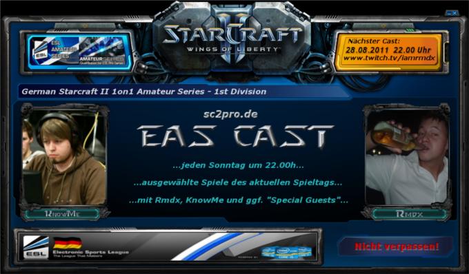 sc2pro.de EAS Cast